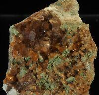 Beautiful Grossular Garnet Group, Rare, York River, Bancroft, Ontario,  Canada