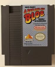 A Boy and His Blob: Trouble in Blobolonia (Nintendo System, 1990) NES Cartridge