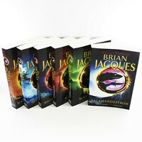 A Tale Of Redwall 6 Books Young Adult Collection Paperback Set By Brian Jacques