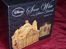 "Disney ""Snow White and the Seven Dwarfs"" Pillars by Enesco"
