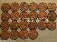 NICE 1940 TO 1960 PENNY SET (22 COINS) COPPER       >>FREE $HIPPING IN CANADA!<<