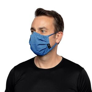 ARIAT brand Fire Retardant Adult Featherlight Face Mask in Royal Blue