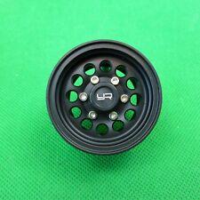 Set (4) off 1.55 Alloy CNC 12 Spoke Beadlock Wheel - Black suit 1:10 Scale RC