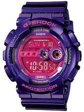 Casio G Shock * GD100SC-6 X-Large Digital Shocking Purple Resin COD PayPal