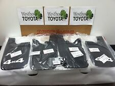 Toyota Tacoma 2005-2015 Genuine OEM New 4 Piece Set of Mudguards 4x4 4WD