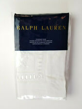 RALPH LAUREN LA HACIENDA WINDSOR LINEN EMBROIDERY CREAM ONE STANDARD PILLOW SHAM