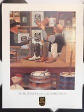 VINTAGE DAN POST COWBOY BOOTS ADVERTISING STORE POSTER #2