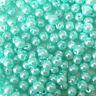 4mm Cristal sintético Perlas tira Turquesa más de 200 cuentas