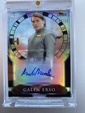 Topps Finest Star Wars Mads Mikkelsen Galen Erso #03/10 Auto Autograph Rogue One