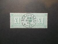 GB~1887~ QV~£1 Green~ Forgery~Reproduction, cat £800~SG212~ uk seller