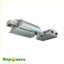 4x Hydroponics Nanolux Double Ended (DE) Fixture 600W with HPS Grow Light Lamp