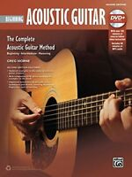 Complete Acoustic Guitar Method Beginning Acoustic Guitar Book  DVD Complet
