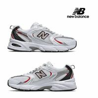 New Balance 530 Retro White Silver Red Running Shoes MR530SA Men's