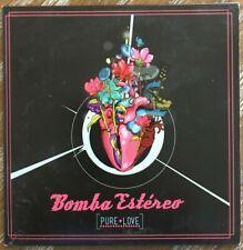 BOMBA ESTEREO -PURE LOVE- PROMO MEXICAN CD MAXI SINGLE RARE CUMBIA