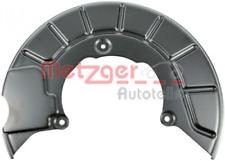 Spritzblech, Bremsscheibe für Bremsanlage Vorderachse METZGER 6115030