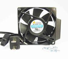 80mm 25mm New Case Cabinet Fan 110 115 120V AC 55CFM Cooling Ball 8025 354*