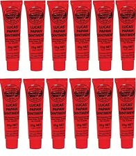Lucas Papaw Ointment Pawpaw Cream Paw Paw Handy Tube 25g x 12