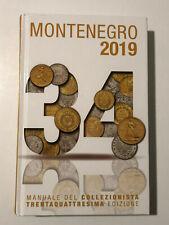 HN MONTENEGRO 2019 Manuale del collezionista monete italiane valutazioni a371