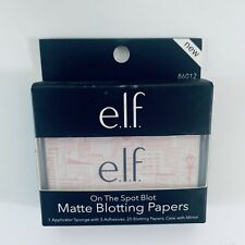 e.l.f. On The Spot Blot Matte Blotting Papers With Case & Mirror 25ct BUY MORE