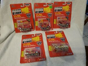 """Vintage 1998 Racing Chmapions Stock Rods 3.25"""" Cars"""