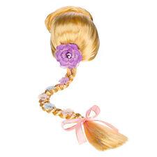 "Disney Store Tangled Movie RAPUNZEL Costume Dress-Up FULL WIG W/ 24"" Hair Braid"