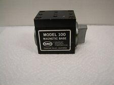 Newport Magnetic Base Model 100 Nrc For A Laser Bread Board Or Laser Table