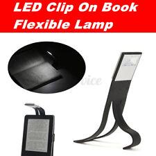 USB Flexible Folding LED Clip On Reading Book Light Lamp For Kindle Reader