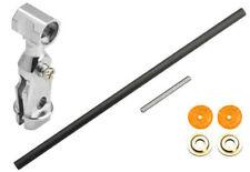 Microheli Blade 70 S Silver Aluminum Main Rotor Hub W/ Carbon Shaft MH-E15X001
