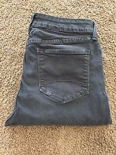 Not Your Daughters Jeans NYDJ Women Size 10 STRAIGHT Dark Gray Pants