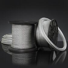 verzinkt Ø 1,5 mit zylindr Stahlseil 3 Mtr Nippel 30 kg Seilsystem Zubehör