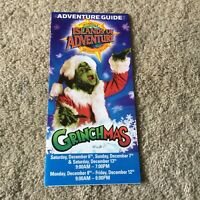 Vintage Universal Studios Florida Islands of Adventure Grinchmas 2008