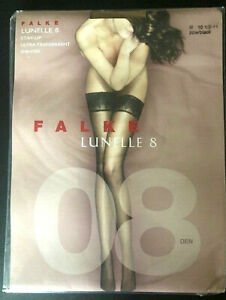Falke Lunelle 8 Lace Top, Stay-Up Stockiings -- PREMIUM QUALITY
