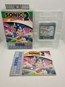 Sonic The Hedgehog 2 - SEGA Game Gear - Pal EUR - Complet - 100% Original