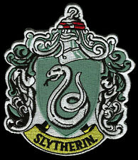 2PC HARRY POTTER SLYTHERIN EMBROIDERED SEW ON IRON ON  PATCH