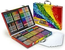 Crayola Painting 140 Piece Kit for Kids Adults Supplies Drawing Pencil Art Set