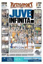 TUTTOSPORT 22/05/2016 JUVENTUS VS MILAN 1-0 WINNER COPPA ITALIA JUVE INFINITA