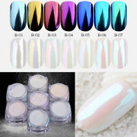 DIY Nail Art Powder Pigment Chrome Glitter Trendy Accessories Beauty For Women