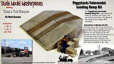 Piggyback/Intermodal Loading Yard Ramp Kit Scale Model Masterpieces-N Craftsman