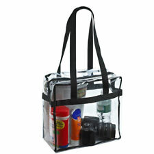 Clear Tote Bag Handbag PVC Transparent Women Make up Cosmetic Bags Travel Beach