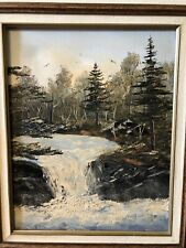 "Original Paining by Mark.S. Hansen 82' Northern Landscape 20"" By 16"""
