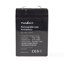 6v 4.5ah Universal Rechargeable Lead Acid Battery For Electric Toy Car/Boat etc