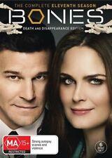 Bones : Season 11 (DVD, 2016, 6-Disc Set)