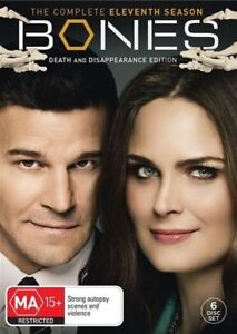 Bones : Season 11 DVD, 2016, 6-Disc Set R4