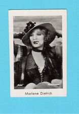 Marlene Dietrich Vintage 1933 Movie Film Star Cigarette Card from Germany #300