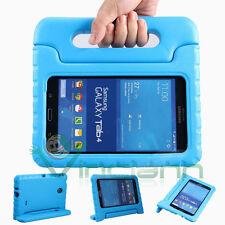 Custodia KID stand bambino per Samsung Galaxy Tab 4 7.0 T230 T231 cover azzurra