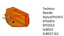 Technics Needle StylusEPS23CS EPS24CS EPS25CS SLBD22 SLBD27 SL5 P24 P27 P28