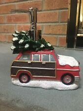 NWT Croscill Christmas Tree Car Snow Holiday Winter Soap Dispenser - Decor Gift