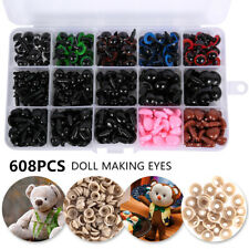 608pcs Safety Noses Eyes and Washers for Teddy Bear Doll Toy Making Crafts DIY