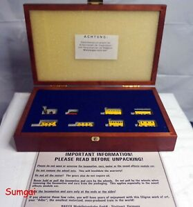 Z Scale Marklin Railex 8770A Brass Special Ed Adler Loc and 6 Car Train Set LNB