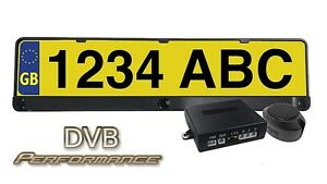 Vauxhall Insignia Car Number Plate Rear Reversing Parking 3 way Aid Sensor